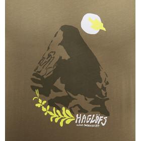 Haglöfs Camp T-shirt Heren, sage green/sprout green